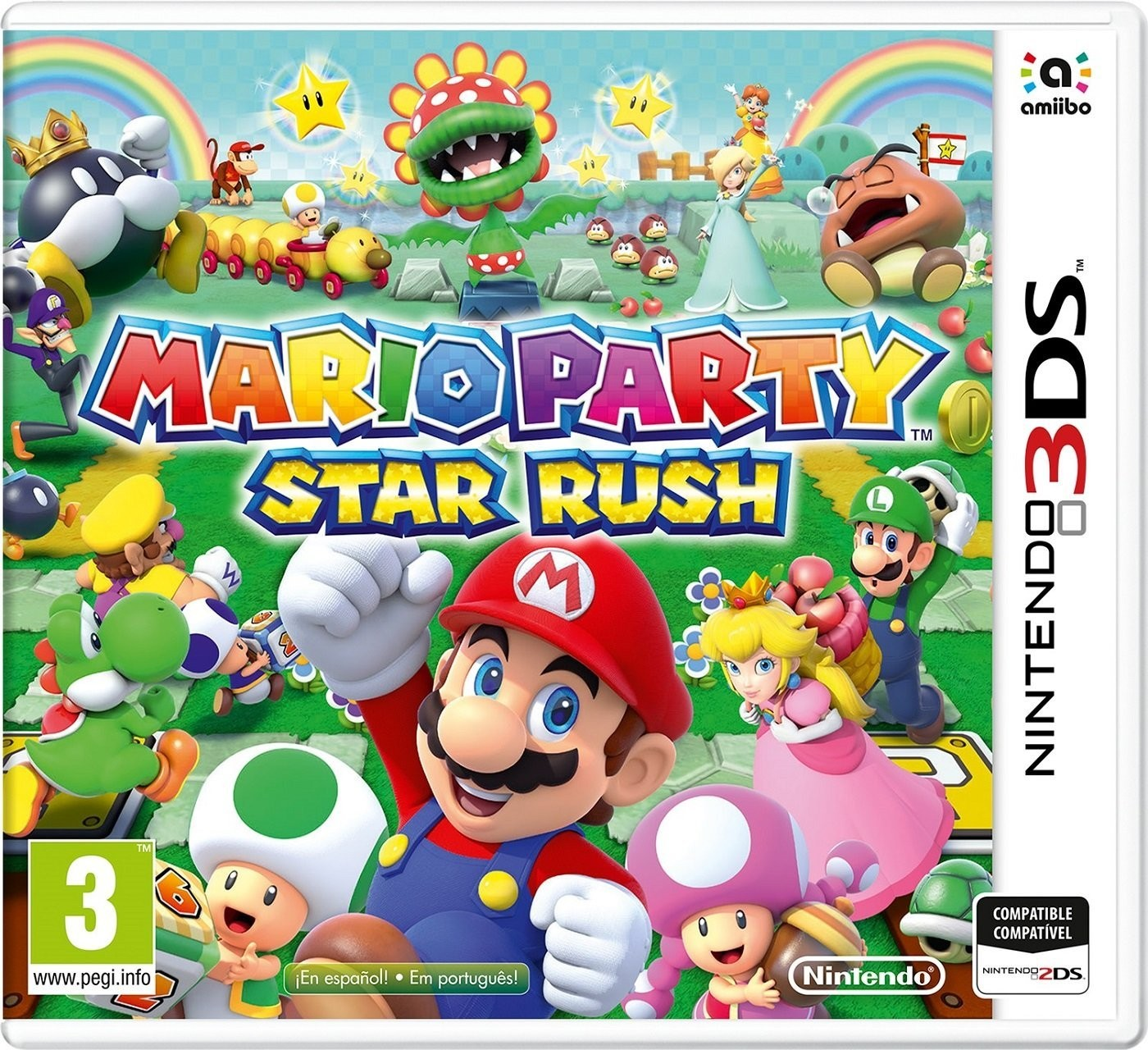 Video Juego Nintendo 3ds Mario Party Star Rush Solutec Latam